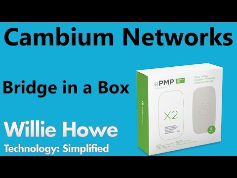 Cambium Networks Bridge in a Box