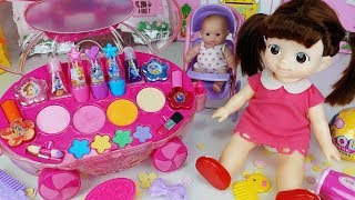 Baby Doll Make Up And Beauty Car Toys Surprise Egg Play   토이몽