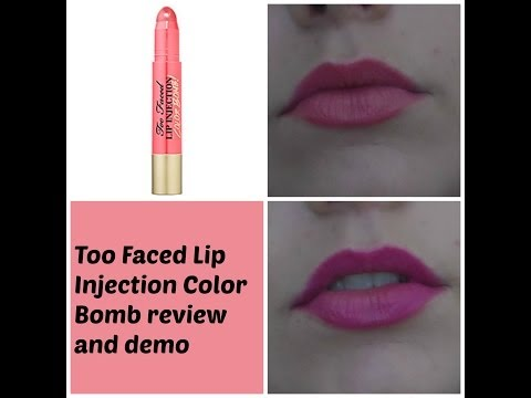 Lip Injection Color Bomb! Moisture Plumping Lip Tint by Too Faced #11