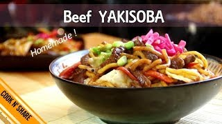 Homemade Beef Yakisoba in 30 Minutes