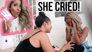 """I'M PREGNANT"" PRANK ON MY MOM! (I made her cry!)"