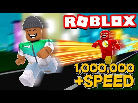 1,000,000 SPEED in Roblox Legends of Speed!!
