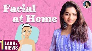 Facial At Home | World Of Makeup With Nakshathra