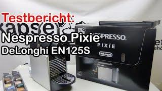 Nespresso Pixie Kapselmaschine im Test (DeLonghi EN 125 S)