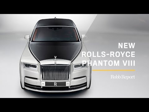 Rolls-Royce Officially Reveals Its Phenomenal New Phantom VIII