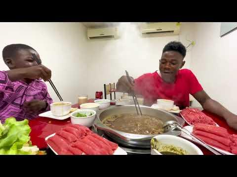 在非洲吃火鍋