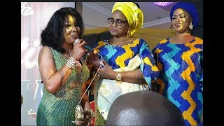 See The Big Men And Woman That Turn Up For At Iyawo Paso Movie Premiere Aminat Dangote