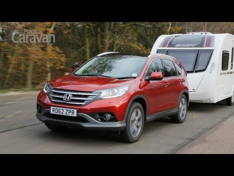 Practical Caravan reviews the Honda CR-V 2.2 i-DTEC EX