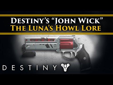 Destiny 2 Shadowkeep Lore - The Luna's Howl, Destiny's own John Wick Story! Dog collar on the moon.