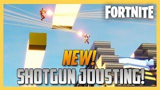 New! Fortnite Creative Hi-Speed Shotgun Jousting! CODE INSIDE | Swiftor