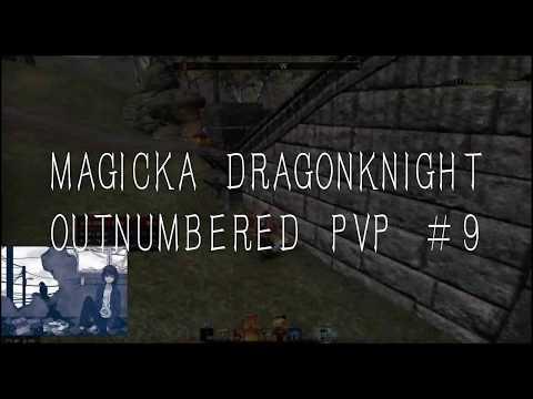 Video] A Flame Rekindled   Magicka DK Outnumbered PvP #9 — Elder