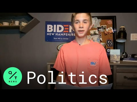 Democratic Convention: Teen With Stutter Says Joe Biden Helped Him Feel More Confident