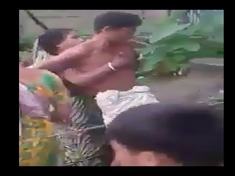 Family fight in village (funny )