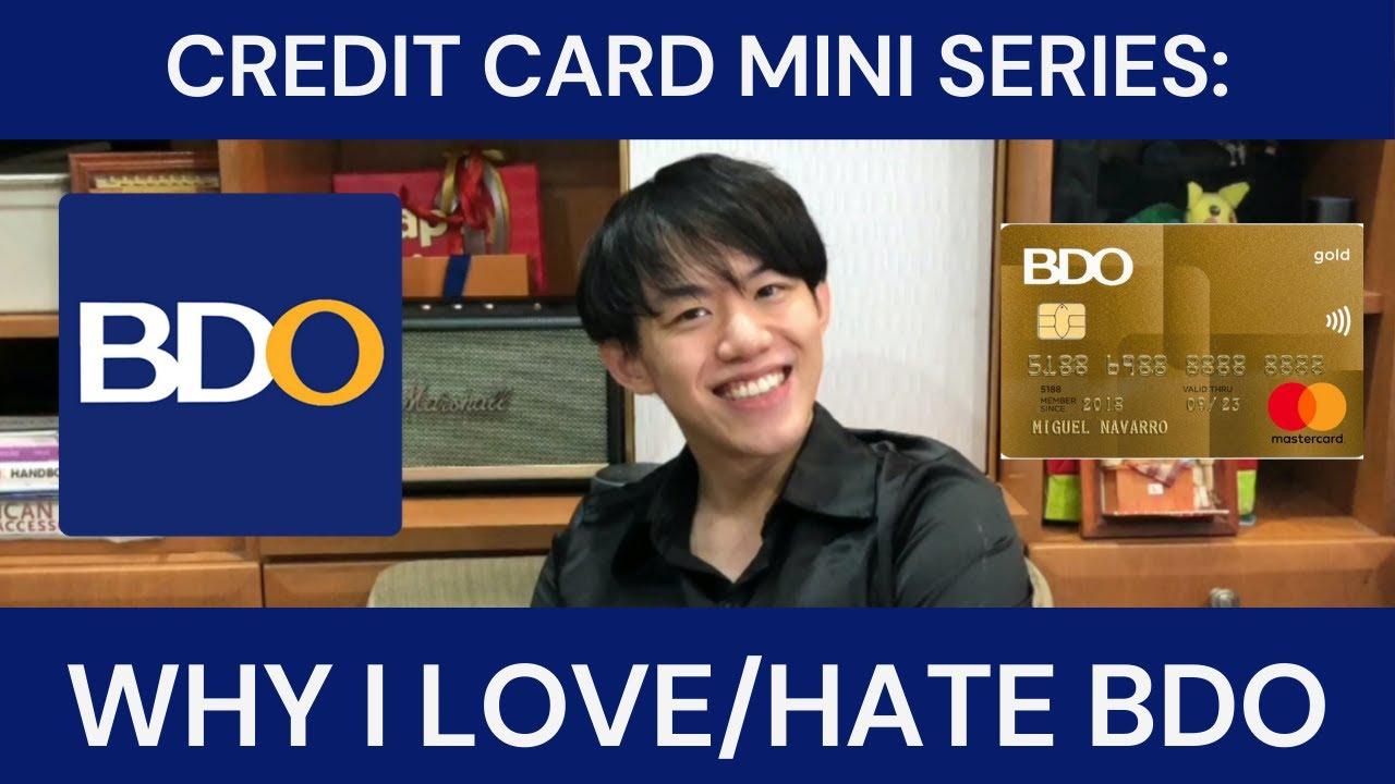 Mini Series: REASONS THAT I LOVE/HATE BDO Credit Cards thumbnail