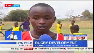 Tatu City trains youth rugby clinic