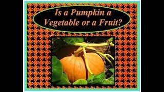 Pumpkins - Is a Pumpkin a Vegetable or a Fruit? - Kids Science - Kids Science Videos