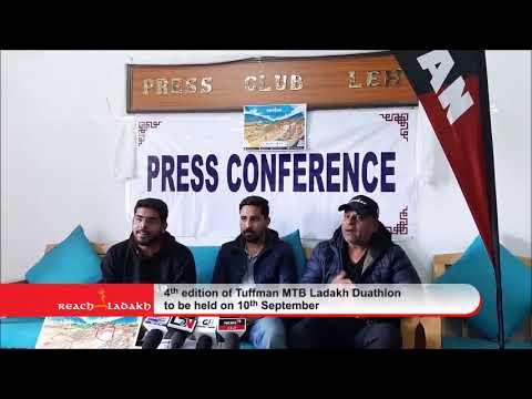 4th edition of Tuffman MTB Ladakh Duathlon to be held on 10th September
