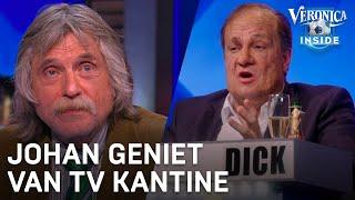 Johan geniet van TV Kantine: 'Het is fantastisch!' | VERONICA INSIDE