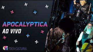 Apocalyptica retorna ao Brasil com Metallica no repertório, para delírio dos fãs