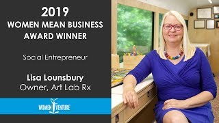 WomenVenture - Lisa Lounsbury, Social Entrepreneur Award Winner