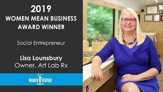 WomenVenture - Lisa Lounsbury, Social Entrepreneur Award Winner