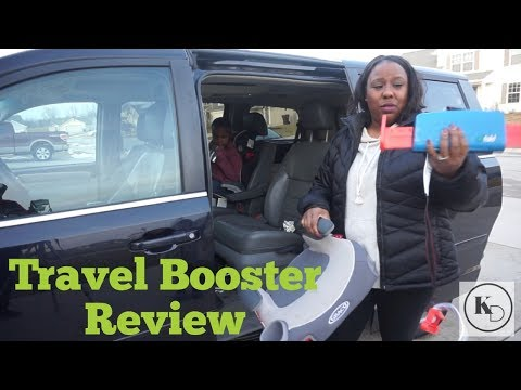 Mifold | Booster Seat Review | Car Seat Safety | Grab and Go Booster | Tips | Traveling with kids
