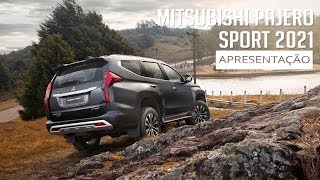 Mitsubishi Pajero Sport 2021 - Apresentação