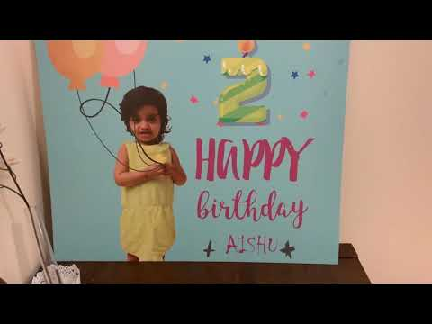2nd Birthday Ayeshu