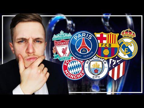 🇪🇺 Qui va gagner la Ligue des Champions ?