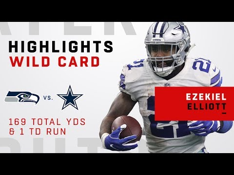 Ezekiel Elliott's HUGE Night w/ 169 Total Yards & 1 TD!