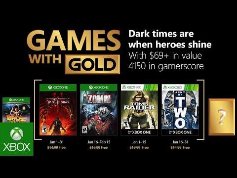 Games With Gold Janeiro 2019 Jogos Gratuitos Da Games