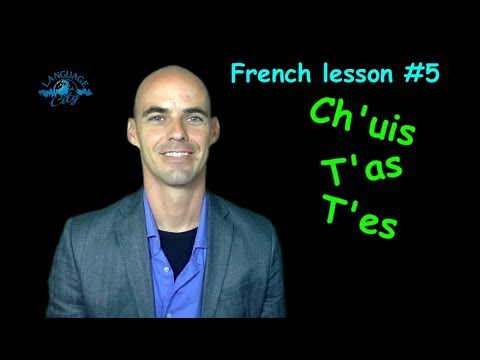 French lesson for beginners: Present tense of être & avoir in French