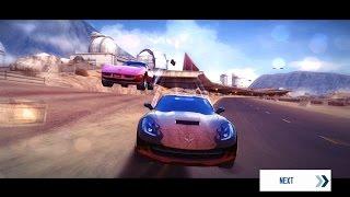 Asphalt 8 Chevrolet Corvette C7 vs Chevrolet Corvette C3 Cloud 9 (Race Suggestion #10)