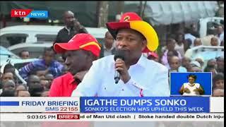 Nairobi County Deputy Governor Polycarp Igathe tenders resignation to boss Governor Mike Sonko