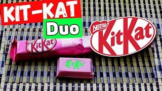 У Макса 1,39 тыс. подписчиков Золотое Розовое переиздание Kit Kat  Duo Микро обзор на Kit Kat . Кит Кат не простой а Duo то бишь дуал, крч  пара.  Я так подозрЕваю, что этот Kit Kat  для девушек видимо создан, ибо  он кламурно -