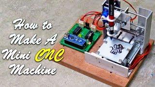 Make A Mini CNC Machine Without DVD ROM Mechanism