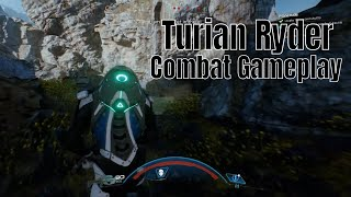 Turian Ryder Combat Gameplay
