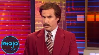 Top 10 Funniest Ron Burgundy Real-Life Appearances