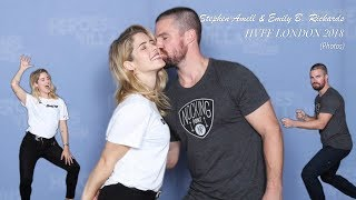 HVFF London 2018 - Stephen Amell & Emily Bett Rickards Photos