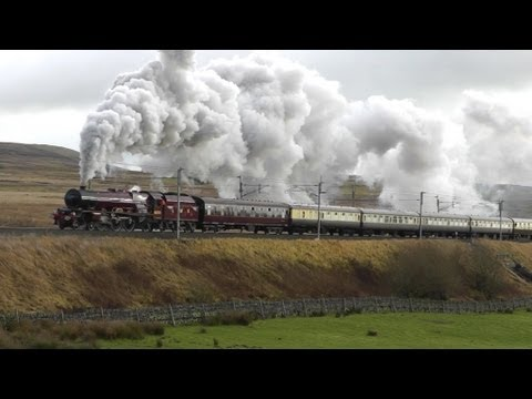 LMS 6201 'Princess Elizabeth' on The Cumbrian Mountaineer 17…