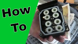 ABS Control Module Replacement 2007-2009 Toyota Camry (How to)