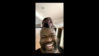Kevin Hart and Shaquille O'Neal ROASTING each other OMG hilarious (WOW) (MUST WATCH)