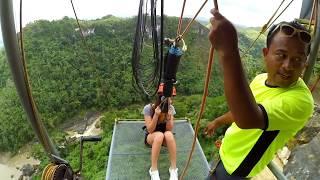 Deadliest Drop! (The PLunge) - Danao Adventure Park