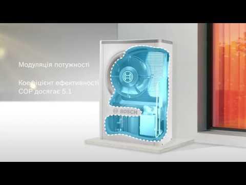 Тепловой насос Bosch Compress 7000i AW 17 E Video #1