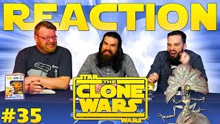 """Star Wars: The Clone Wars #35 REACTION!! """"Legacy of Terror"""""""