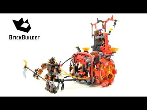 Vidéo LEGO Nexo Knights 70316 : Le char maléfique de Jestro