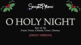 O Holy Night (Piano Karaoke demo - Ab)