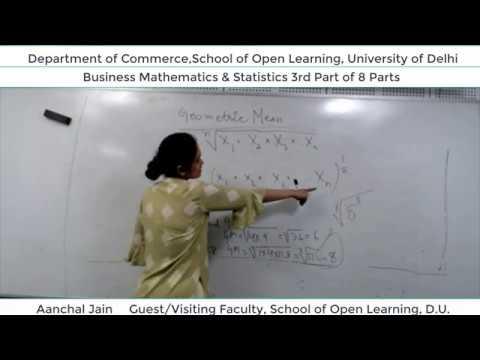 B.Com 2nd Semester (B.M.S) Lecture - Aanchal Jain  Part-3