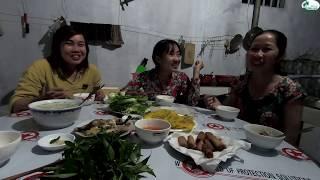 Dì Mười nấu cháo Gà Rừng ăn Trung Thu - Hương vị đồng quê - Bến Tre - Miền Tây