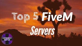 Top 5 FiveM Severs (2020) - Best RP Servers - GTA 5 Best Servers